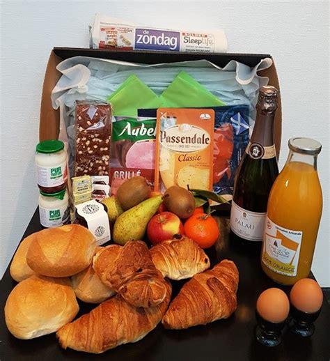 ontbijtmand aan huis la bouteille d amour ontbijtmanden