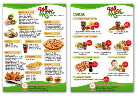 design my menu entry 10 by langitplus for i need some graphic design