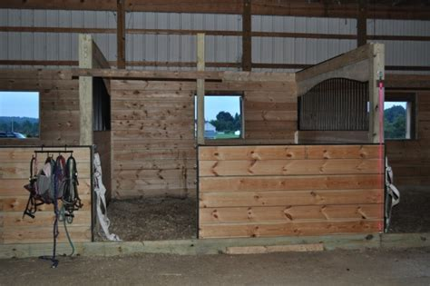 how to stall barn improvements part 2 custom arched stalls