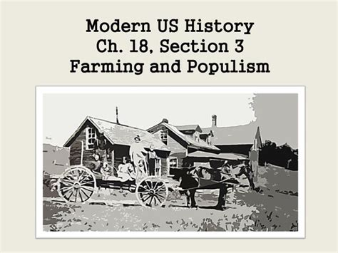 us history chapter 18 section 3 ppt modern us history ch 18 section 3 farming and