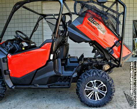 honda utility vehicle 2016 pioneer 1000 5 drive review all new honda side by
