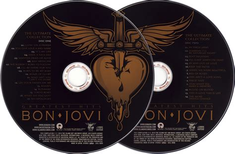 Cd Original Bon Jovi Greatest Hits The Ultimate Collection bon jovi greatest hits the ultimate collection 2010 japan uicl 9095 6 shm cd avaxhome
