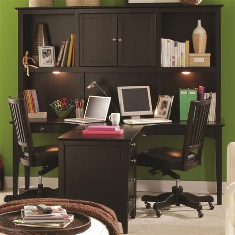 Home Office Desks For Two 2 Person Desk Home Office Hostgarcia