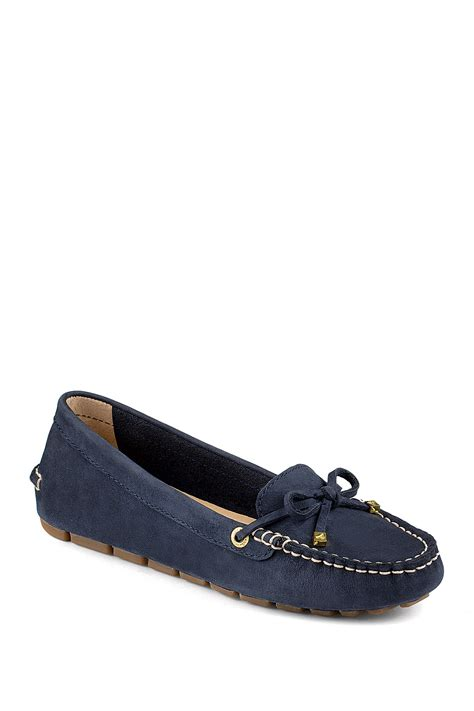 accent rubber sts sperry katharine 1 eye driving loafer nordstrom rack