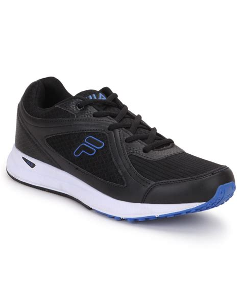fila vannozzo black sports shoes price in india buy fila