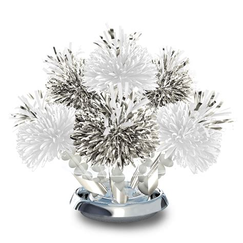 traditional 25th silver wedding anniversary centerpiece wanderfuls