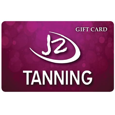 Tanning Gift Cards - 50 e gift card j2 tanning