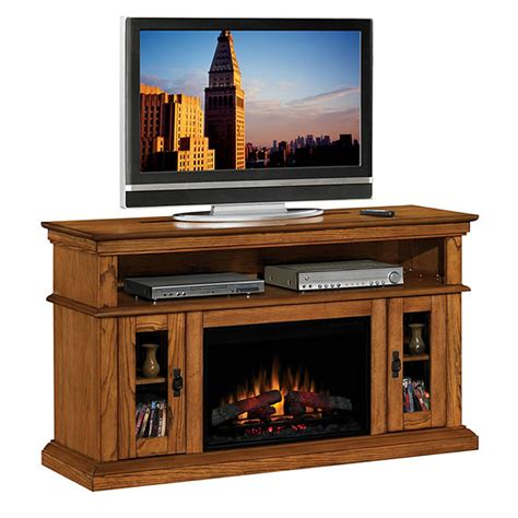 Oak Electric Fireplace by Classic Brookfield Collection 60 Wide Media Mantel