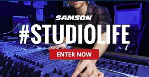 Recording Gear Giveaway - samson disc makers studiolife studio gear giveaway returns