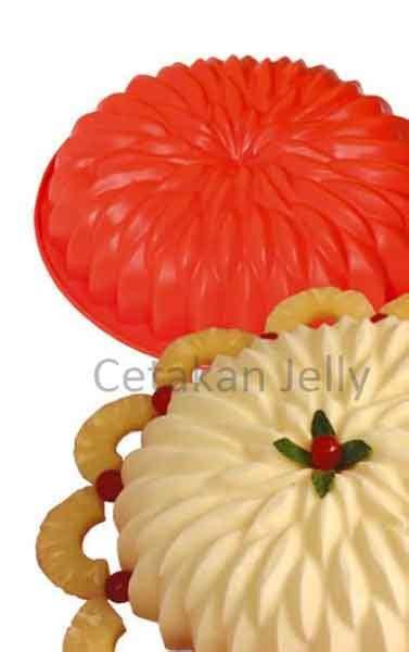 Cetakan Slikon Kue Puding Big Dino cetakan silikon kue puding big aster cetakan jelly cetakan jelly