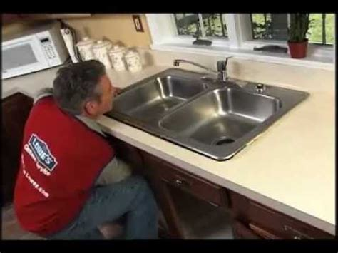 replace  kitchen sink youtube