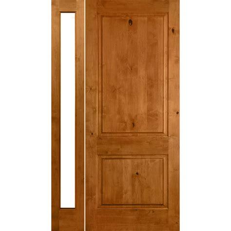 36 X 96 Wood Front Door by Krosswood Doors 36 In X 96 In Krosswood Craftsman