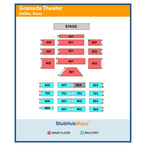 granada theater dallas tx seating chart granada theater events and concerts in dallas granada
