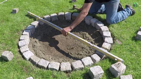 feuerstelle stein selber bauen feuerstelle selber machen best feuerstelle