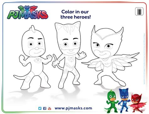 pj masks blank coloring pages pjmask coloringsheet disneyjunior pj masks