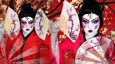 Geisha Get It by Geisha Makeup Tutorial