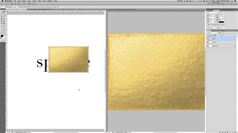 gold color photoshop creating gold foil text in photoshop