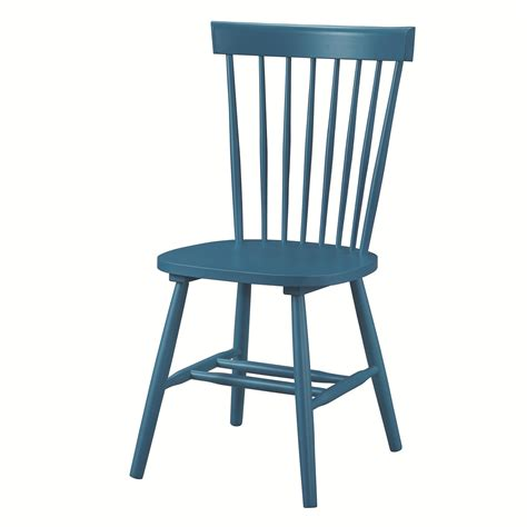 coaster 104004 blue wood dining chair a sofa
