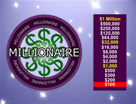 who wants to be a millionaire template powerpoint with sound millionaire powerpoint template best