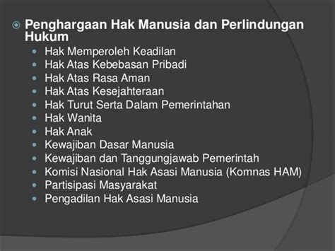 Dasar Dasar Hukum Acara Pidana Perkembangan Dan Pembaharuannya Di I 4 perkembangan ham di indonesia