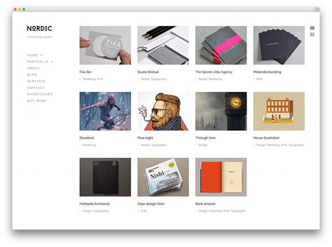 30 best personal portfolio wordpress themes 2016 colorlib