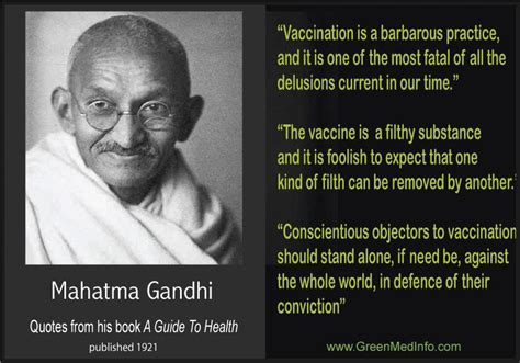Gandhi Memes - a century later gandhi s anti vaccine views ring true