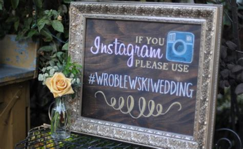 How to Create a Unique Wedding Hashtag