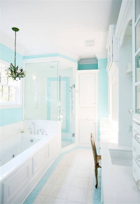 turquoise bathroom paint turquoise bathroom house of turquoise pinterest