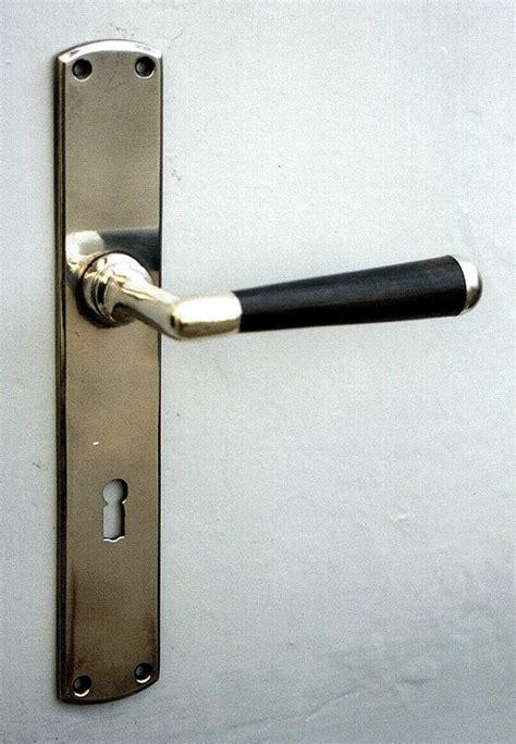 Interior Door Fitting 187 Interior Door Fitting Wooden Handle 171 Replicata Material Brass Replikate
