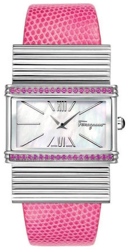 Salvatore Ferragamo Luxury Ribbon Flats 50419 18 pink watches luxury watches