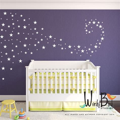 room decals baby nursery decals confetti wall decals stickers for