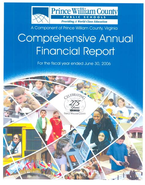 Statistical Section Of Cafr by Finance Reports Prince William County Schools