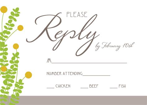 Rsvp Wedding Invite Template by Wedding Rsvp Invitation Wording Sles Anniversary