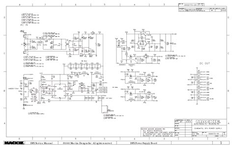Power Lifier Mackie power supply board schematics power get free image about