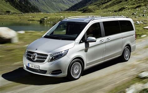 Mercedes V Class by New Mercedes V Class Gets 4matic All Wheel Drive System