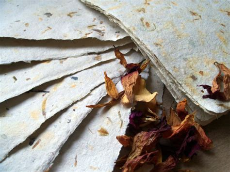 Handmade Paper Process - papermaking as creative reuse