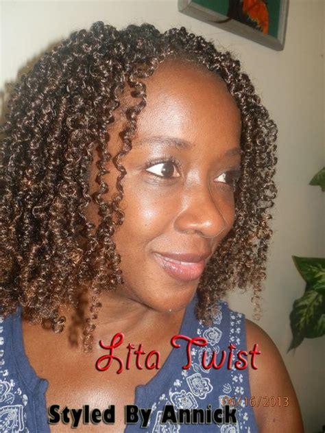 how to do bomb twists lita twists using afro coil or spring twist hair