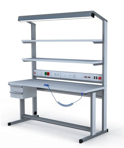 esd work bench esd furniture electrostatic discharge maxi work bench