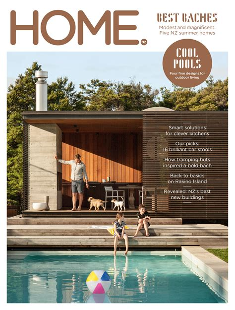 home design magazines nz new zealand s best new baches