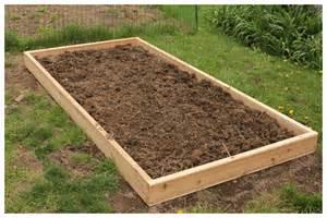 Garden Bed Wood Frame 365 Days To Simplicity Raised Garden Bed