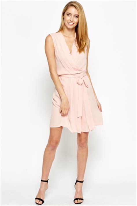 light pink skater dress light pink v neck skater dress just 163 5