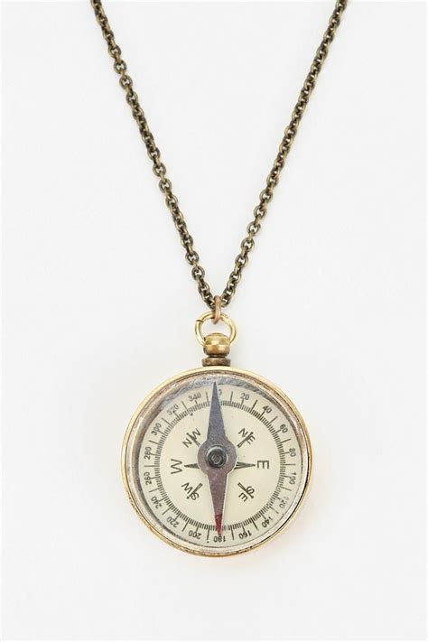 Compass Necklace compass necklace urbanoutfitters fashion