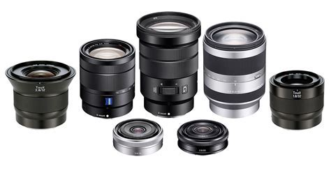 Ultimate Guide to APS E Mount Lenses for Sony Mirrorless