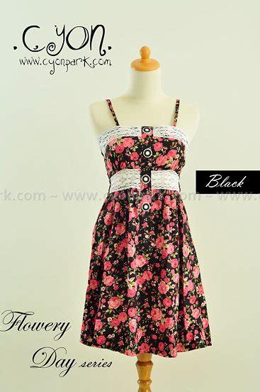 Gelang Tangan Pria Cowok Hermes Black Lilit flowery dress simple fashion