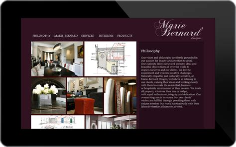 interior design website website design portfolio professional graphic and website