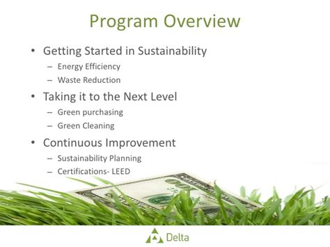 Of Michigan Sustainability Mba by Getting Started In Sustainability Webinar 08 15 11