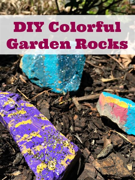 painted garden rocks colorful painted garden rocks craft family focus