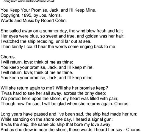 a promise to keep on the shore volume 5 books time song lyrics for 49 you keep your promise and