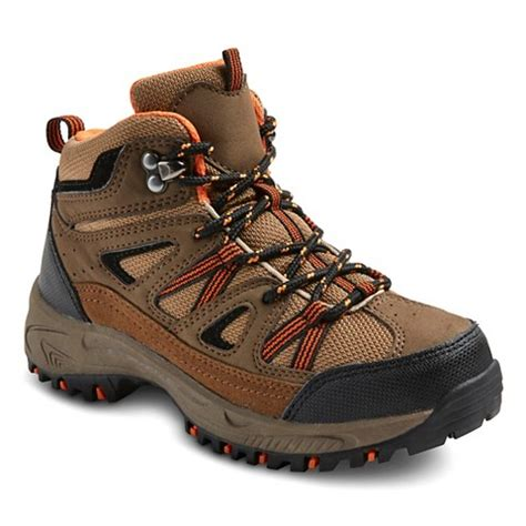 boys flanery hiking boots brown target