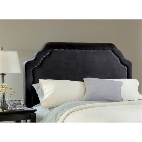 black upholstered headboard queen hillsdale carlyle upholstered full queen panel headboard